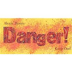 Danger Personalized Art Print