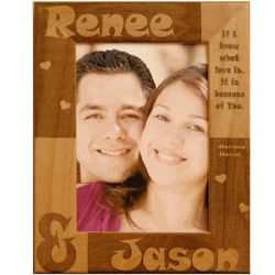 Personalized Love Quote Frame