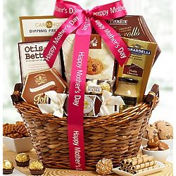 Tranquil Afternoon for Mom Gift Basket