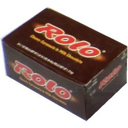 Chocolate and Caramel Rolo Candies