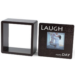 Laugh Photo Cube with Removable Front