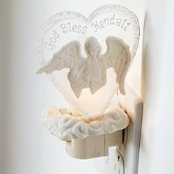 Personalized Guardian Angel Night Light