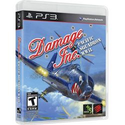 Damage Inc. Pacific Squadron WWII Playstation Game