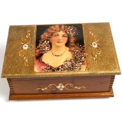 Fair Lady Handmade Jewelry Box