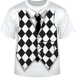 Harlequin Vest T-Shirt