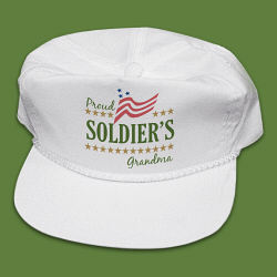 Proud Soldier's Personalized Military Hat
