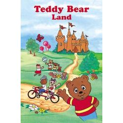 Teddy Bear Land Personalized Children's Story Book