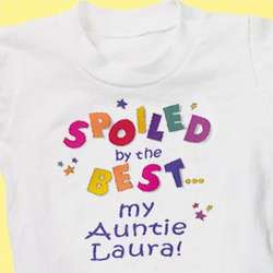 Personalized Spoiled By the Best Youth T-Shirt