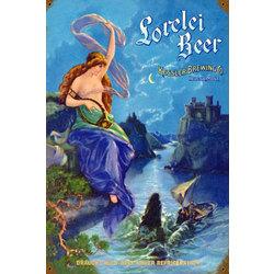 Lorelei Beer Metal Sign