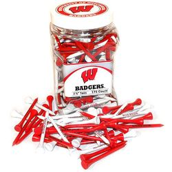 Wisconsin Badgers Golf Tee Jar