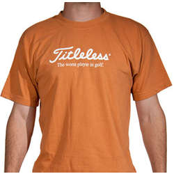 """Titleless"" Golfer T-Shirt"