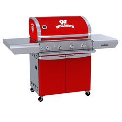 Wisconsin Badgers Team Grill Patio Series MVP Gas Grill