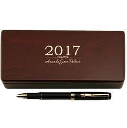 Graduating Class Pen in Personalized Wooden Case