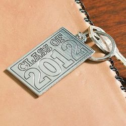 """Class of 2012"" Inspirational Graduation Key Chain"