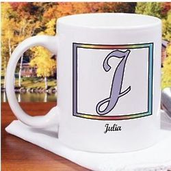 Personalized Initially Yours Coffee Mug