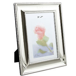 Personalized Silver Ornate 5x7 Frame