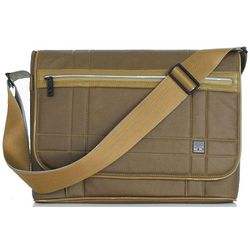Saxby Slim Army Messenger Bag