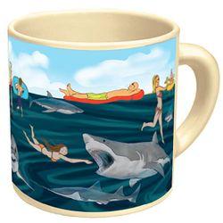 Appearing Shark Ceramic Mug