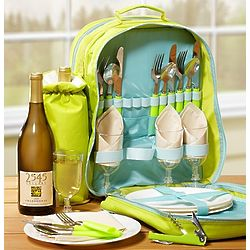 Mom's Ultimate Wine Picnic Backpack