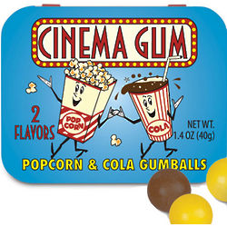 Popcorn and Cola Cinema Gum
