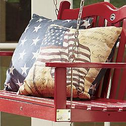 Freedom Flag Indoor/Outdoor Pillow