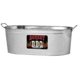 Personalized BBQ Master Beverage Tub
