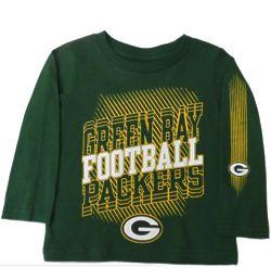 Toddler's Green Bay Packers Football T-Shirt