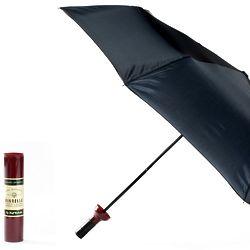 Burgundy Wine Bottle Umbrella