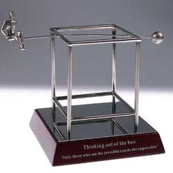 Thinking Outside the Box Motivational Award