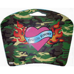 """Friends Forever"" Tattoo Style Camo Lap Desk"