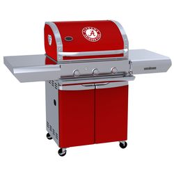 Alabama Crimson Tide Team Grill Patio Series Pro Gas Grill
