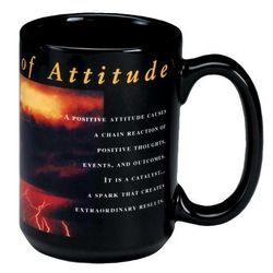 Power of Attitude Ceramic Mug