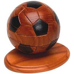 Soccer Ball Jigsaw Wooden Puzzle