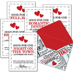 Bundle of Love Coupons in Mini Envelope