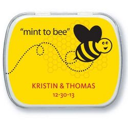 Personalized Meant to Bee Mint Tins