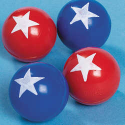 Patriotic Bouncing Balls