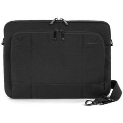 One Fabric Black Nylon Laptop Sleeve