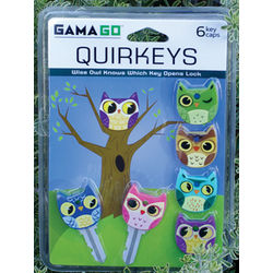 Owl Quirkeys Key Caps