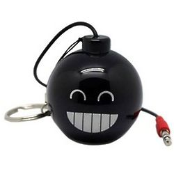 Smiley Bomb Mini Portable USB Speaker