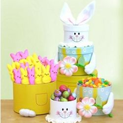 Easter Bunny Tower of Sweets