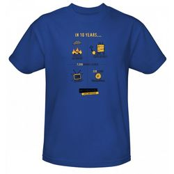10 Years of MythBusters Blue T-Shirt