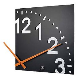 Infinity Wooden Wall Clock