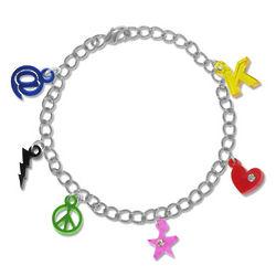 Funky Fashion Charm Color Bracelet