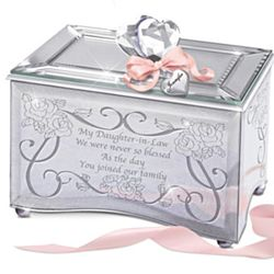 My Daughter-In-Law I Love You Personalized Music Box