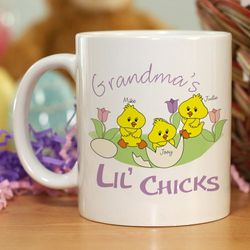 Personalized Lil' Chicks Coffee Mug