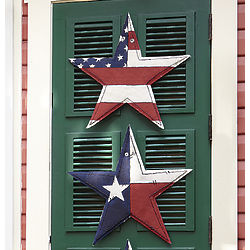 American Flag Print Summer Star