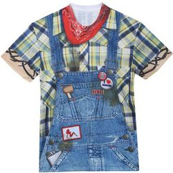 Faux Hillbilly Costume T-Shirt