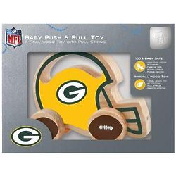 Green Bay Packers Wooden Push and Pull Toy