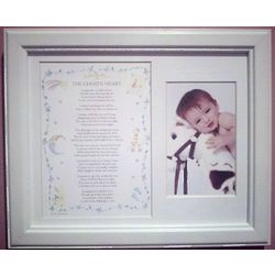 Adoption Poem and Picture Frame