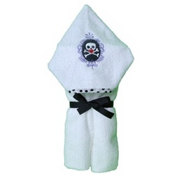Gothic Skull Hooded Towel